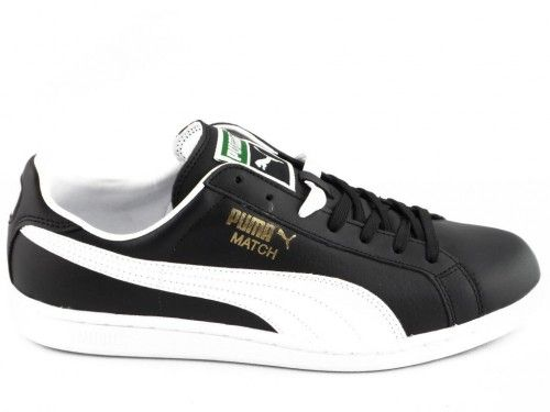 Puma Match Solid Zwart Wit