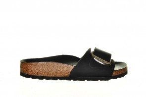 Birkenstock Madrid Black Big Buckle