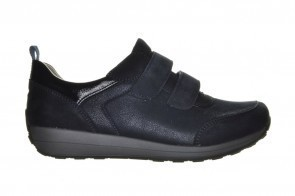 Blauwe Comfortschoenen Velcro
