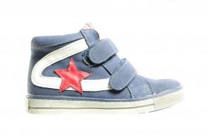 Blauwe Velcro Sneakers Hoog Kids