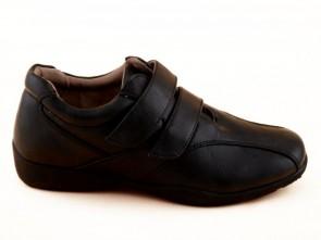 Dames Velcro Zwart Schoen