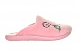 Kinderpantoffels Roze Katjes