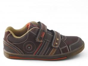 Kinderschoenen Velcro Bruin