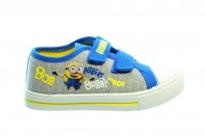 Minions Sneaker Grijs Blauw