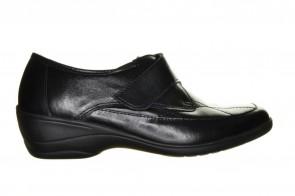 Mirel Zwarte Sneaker Met Velcro