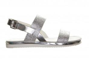 Platte Sandalen Zilver Sprox