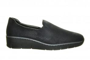 Rieker Loafer Zwart