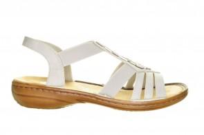 Rieker Witte Sandalen