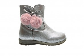 Roze Laarzen Pom Pom