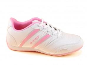 Sportschoenen Dames Wit Roze