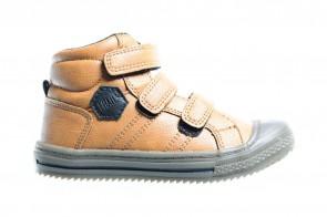 Sprox Kinderschoenen Velcro Cognac