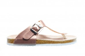 Teenslipper Goud Roze