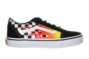 Vans Ward Flame Checker