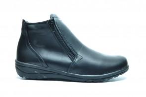 Zwarte Comfort Bottines Dames Rits