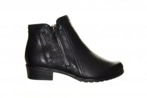 Zwarte Leder Laarzen Remonte
