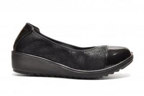 Zwarte Pump Sleehak Comfort